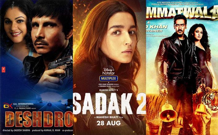 आलिया भट्ट की सदाक 2 से 2 अजय देवगन मूवीज - टॉप 5 सबसे खराब IMDb रेटेड मूवीज!