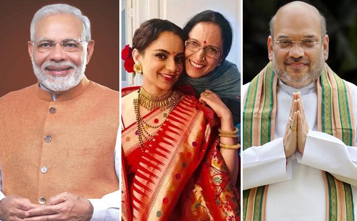 कंगना रनौत की मां का शुक्रिया BJP: