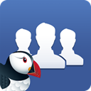Atlantic puffin for Facebook icon