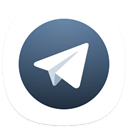X telegram icon