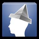 Aluminum foil for Facebook icon