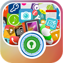 Gallery vault and app lock icon