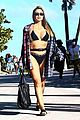 Larsa Pippen Rocker In Black Bikini Beach Day 07