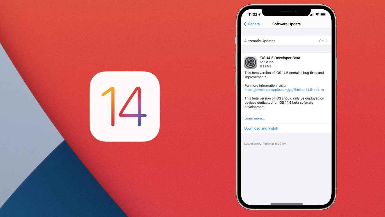 Apple launches new build of iOS 14.5 developer beta 1 [u] - BollyInside