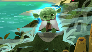 Philips Disney Ambient Experience Yoda