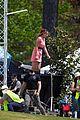 Dove Cameron Chloe Bennett Yana Perault Entering Character On Day One Of Powerpuff 47