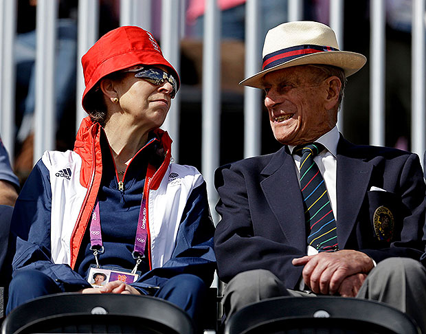 Princess Anne, Prince Philip